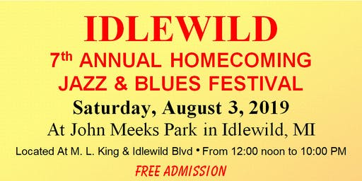 IDLEWILD BLUES AND JAZZ FESTIVAL Motorcoach Travel