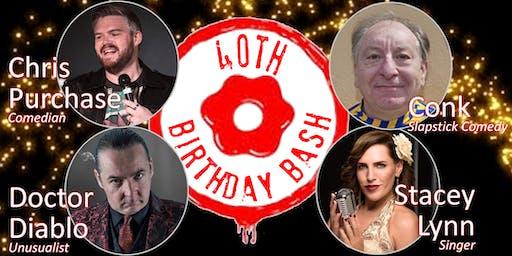 Radio Lollipop 40th Birthday Bash