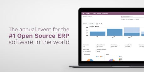 Odoo Connect 2019: ERP Software Business Conference tickets