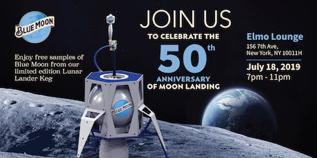 Blue Moon Brewing Co. Limited-Edition Keg Tapping For 50th Anniversary of Moon Landing tickets