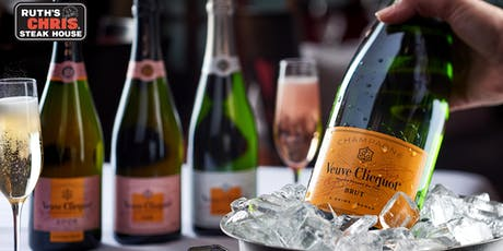 Ruth's TasteMaker - Veuve Clicquot Dinner tickets