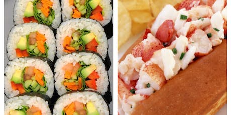 Make your own Sushi Roll class at The Vineyard at Hershey  tickets