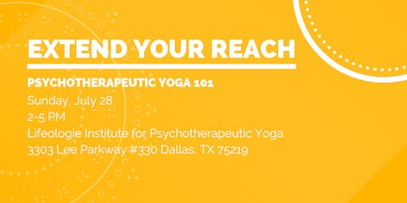 PSYCHOTHERAPEUTIC YOGA 101 tickets