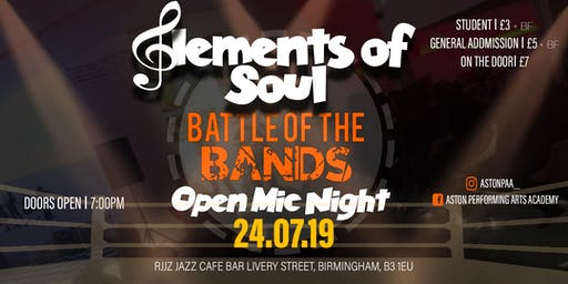 Elements Of Soul: Battle of the Bands