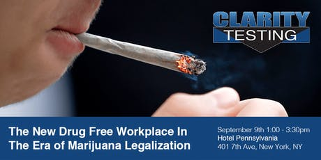 The New Drug Free Workplace In The Era of Marijuana Legalization tickets
