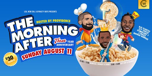 The Morning AFTER Hip-Hop Brunch: The 3 Year Anniversary - #THE3PEAT