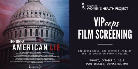 "Film Screening of ""The Great American Lie"" tickets"