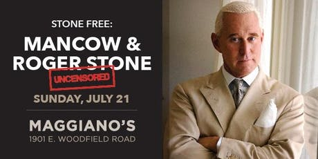 Stone Free: Mancow and Roger Stone Uncensored tickets