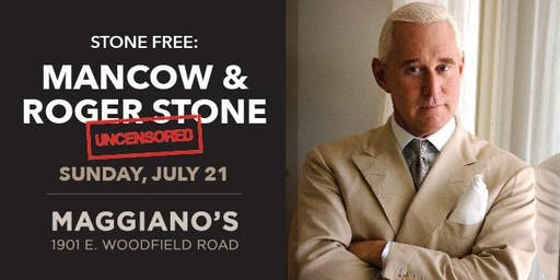 Stone Free: Mancow and Roger Stone Uncensored