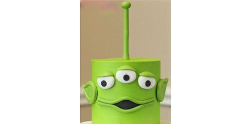 Kids Only Toy Story Alien Cake Decorating Class