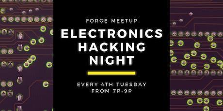 Electronics Hacking Meetup tickets