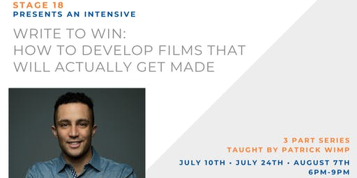 Write To Win: How To Develop Films That Will Actually Get Made