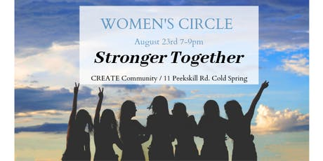 Monthly Women's Circle: Stronger Together tickets