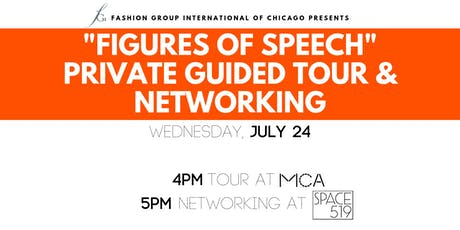 FGI Presents: MCA Figures of Speech Tour & Networking at Space 519 tickets