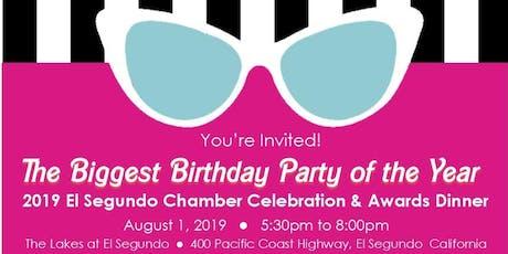 2019 El Segundo Chamber Celebration & Awards Dinner tickets