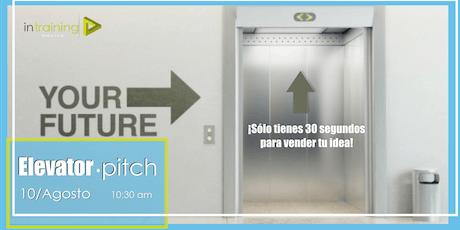 Elevator pitch entradas