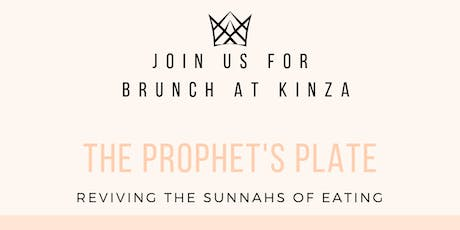 The Prophet's Plate: Reviving the Sunnah tickets