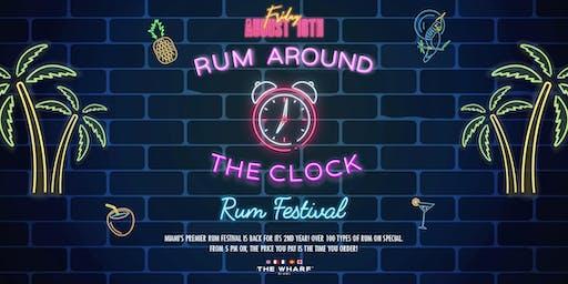 RUM AROUND THE CLOCK: RUM DAY FESTIVAL