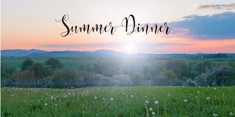 Summer Dinner tickets