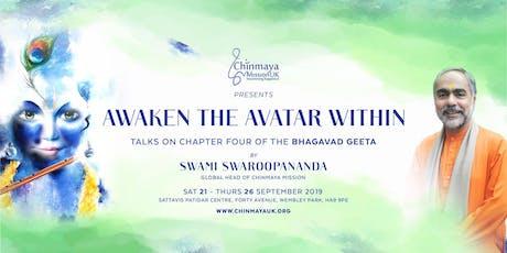 Awaken the Avatar Within tickets