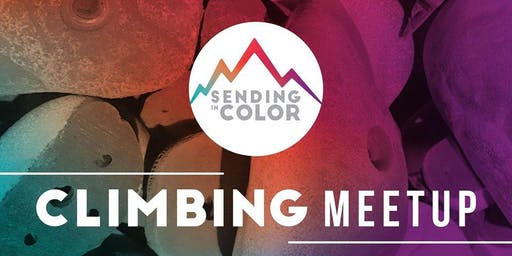 Sending in Color at Brooklyn Boulders