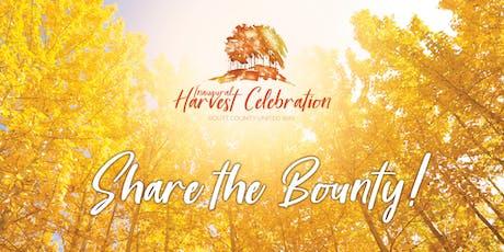 Inaugural Harvest Celebration tickets