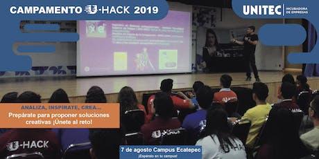 Campamento U-Hack 2019 Eca entradas