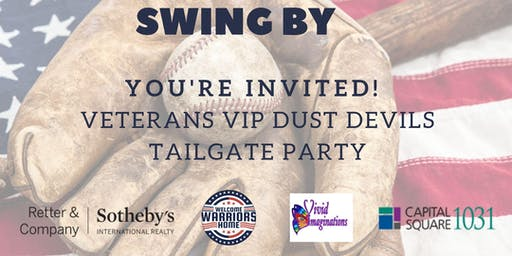 VETERANS VIP DUST DEVILS TAILGATE PARTY