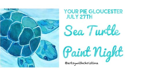 Sea Turtle Paint Night @ Your Pie