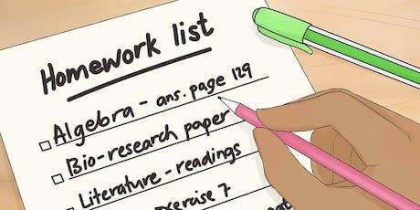 Equipping Children To Manage Homework And Deadlines tickets