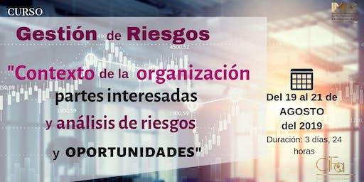 GESTIÓN Y ANÁLISIS DE RIESGOS Y OPORTUNIDADES