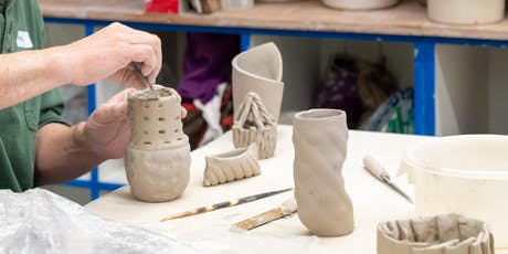 Adult Session 5: Beginning Pottery - SAT AM tickets