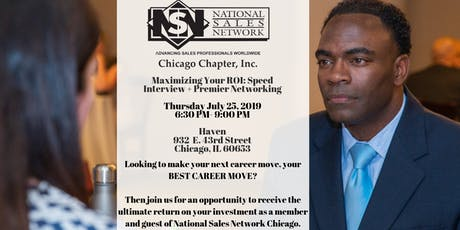 NSN Chicago Presents: Maximizing Your ROI Speed Interviewing Event tickets