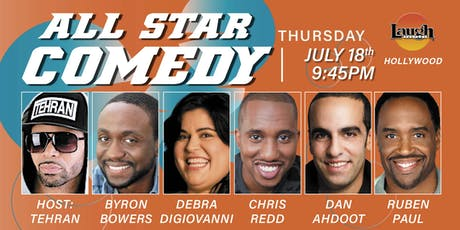Chris Redd, Byron Bowers, and more - All-Star Comedy! tickets