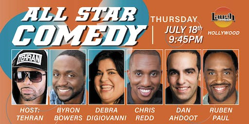 Chris Redd, Byron Bowers, and more - All-Star Comedy!