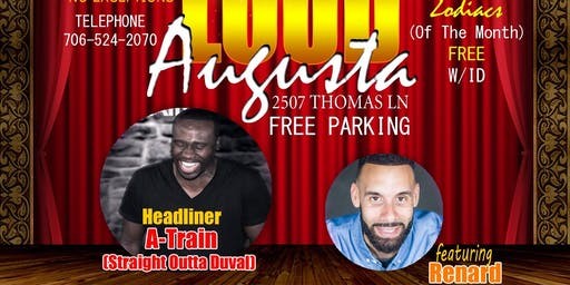 JOKERS COMEDY CLUB PRESENTS: STRAIGHT OUTTA DUVAL COUNTY-COMEDIAN A-TRAIN