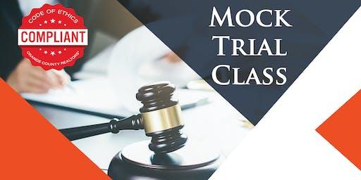 Mock Trial Class
