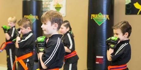 Back to School ! ** Free Children's Beginner Martial Arts 5-7 yr olds tickets