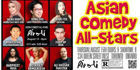 Asian Comedy All Stars With Headliner Ali Hassan! tickets