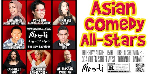 Asian Comedy All Stars With Headliner Ali Hassan!