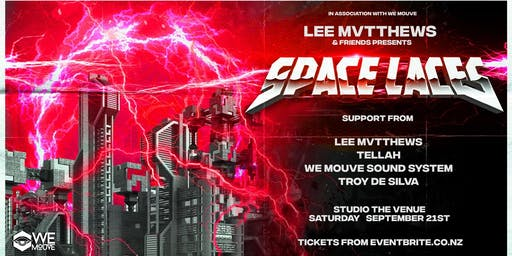 Lee Mvtthews & Friends presents: SPACE LACES (USA)