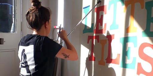 All-Female Beginners Signwriting Workshop with Galphabetics