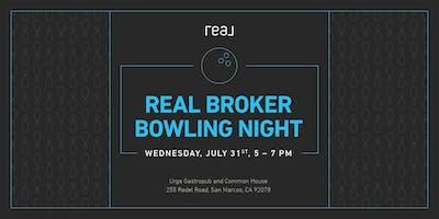 Real Broker Bowling Night
