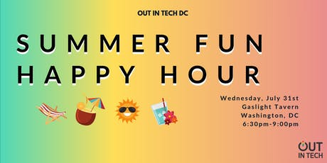 Out in Tech DC | Summer Fun Happy Hour tickets
