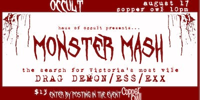 MONSTER MASH: the search for Victoria\