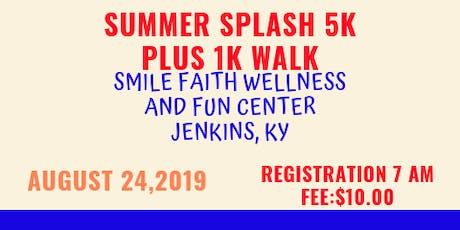 Summer Splash 5K Race & 1K Walk tickets
