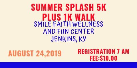 Summer Splash 5K Race & 1K Walk