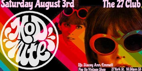 Mod Nite: 1960's Soul Dance Party! tickets