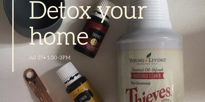 Intro to Essential oils| Detox your home with essential oils (make&take)