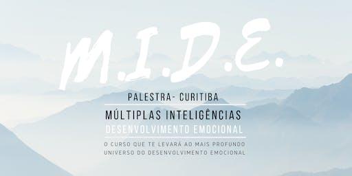 Palestra MIDE - Múltiplas Inteligências e Desenvolvimento Emocional 30/07